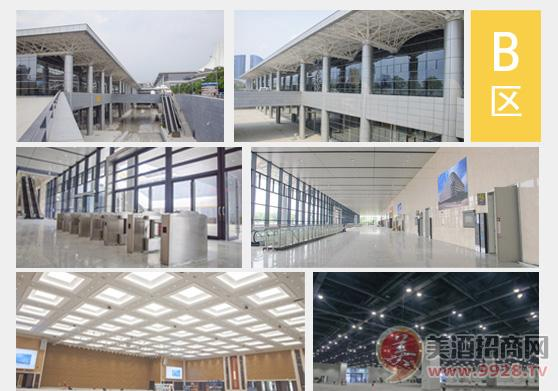 第16届广西糖酒会展馆南宁国际会展中心的展馆设施