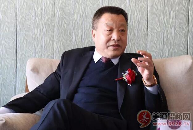 泰山酒业集团股份有限公司董事长兼总经理张铭新