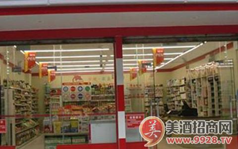 白酒终端陈列技巧之KA卖场B类连锁超市