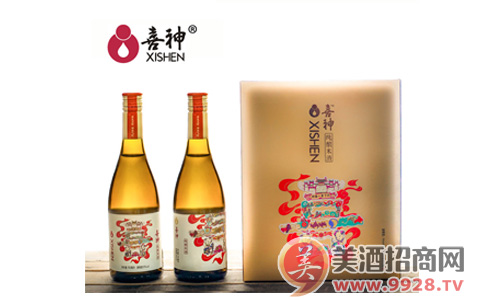喜神米酒,健康饮酒好选择!
