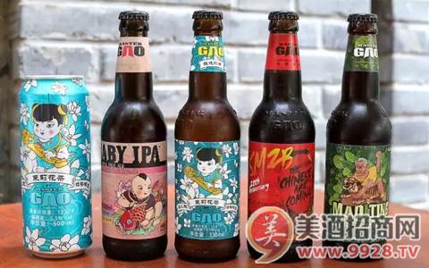 高大师精酿啤酒 创意新潮多元化!