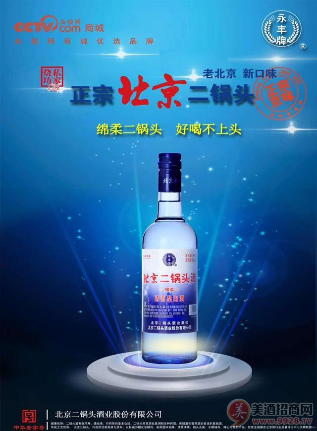 永丰牌北京二锅头酒绵柔清香型
