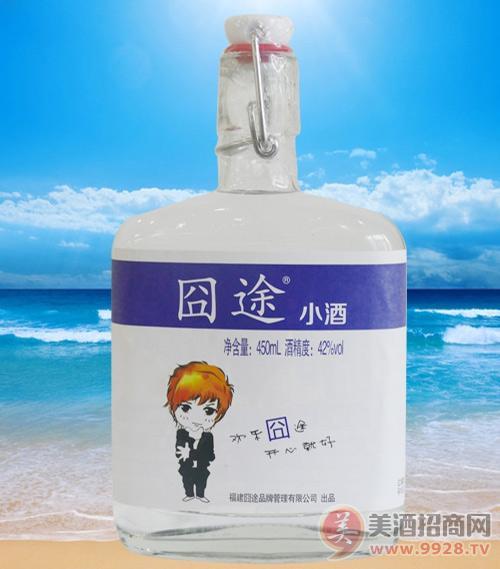 囧途小酒浓香型42度450ml