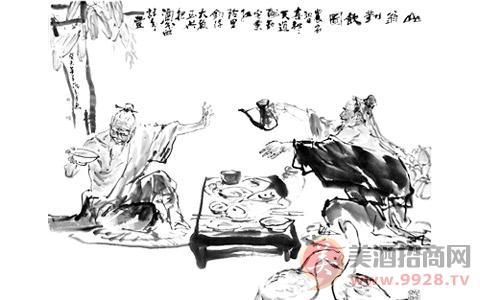 中国古人简笔画