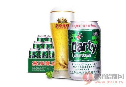 燕京啤酒8度party啤酒