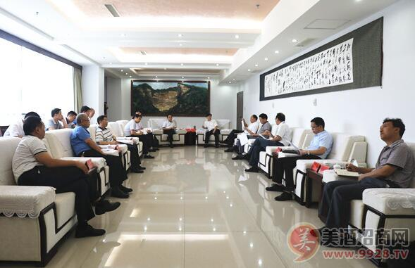 习酒公司与习水县委县政 府举办座谈会