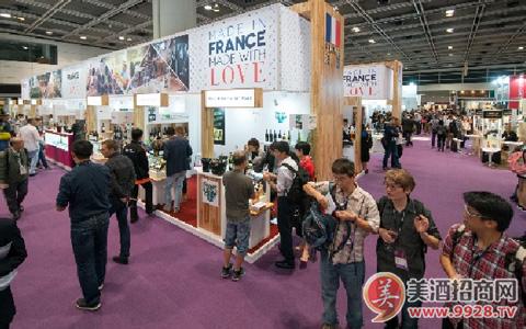 香港国际美酒展2018法国馆 云集法国各大区70家酒商展示法国美酒佳酿魅力