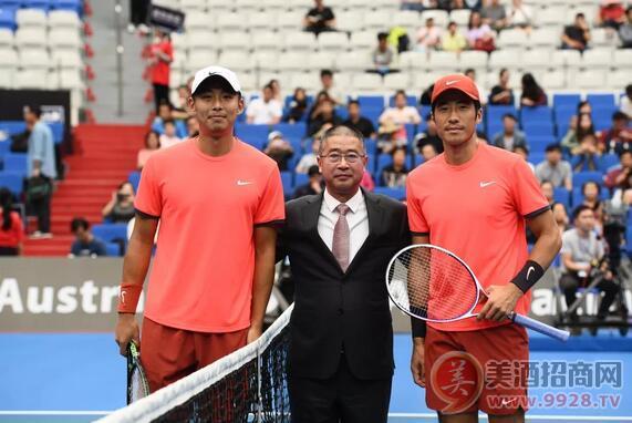 中国荣耀正式亮相澳网赛场