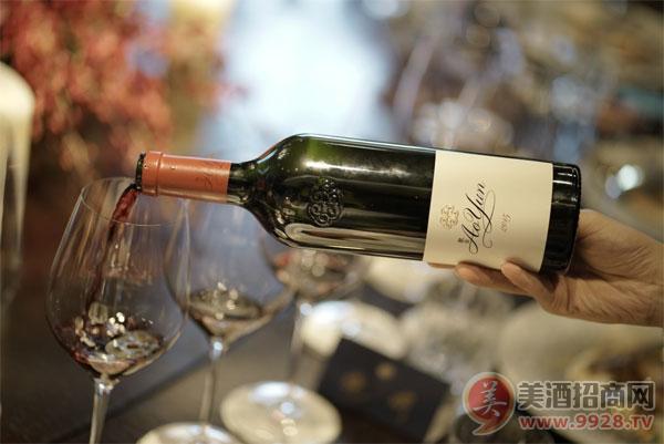 敖云2015年份葡萄酒