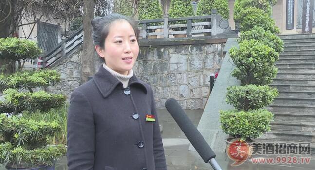 中国酒文化城讲解员 乔红艳