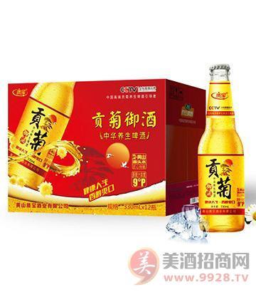 贡菊养生啤酒