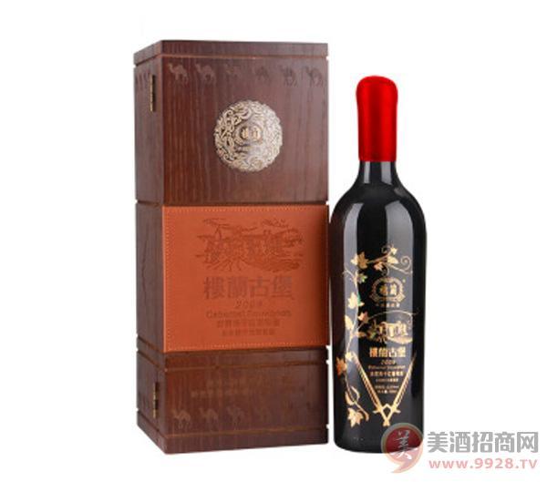 楼兰古堡赤霞珠干红葡萄酒750ml