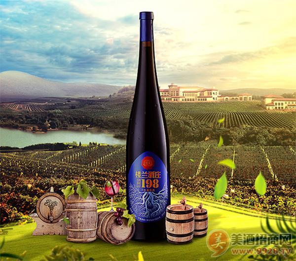 楼兰酒庄深根198红酒1.5L