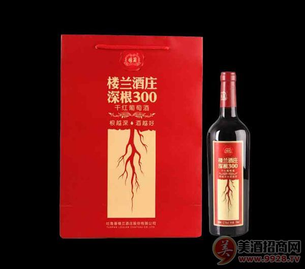 楼兰酒庄深根300干红葡萄酒750ml