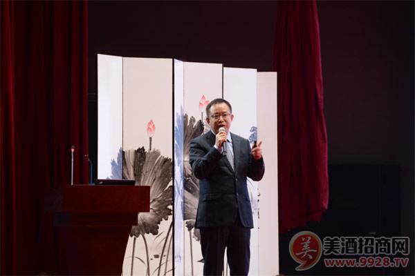 刘力董事长对舍得酒业改制来所取得的显著效果表示高度肯定和赞许