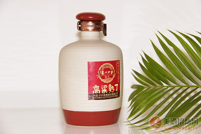 泸州老窖酒高粱熟了500ml