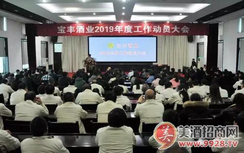 宝丰酒业发布新三年战略规划:新宝丰、新模式,大布局、大发展