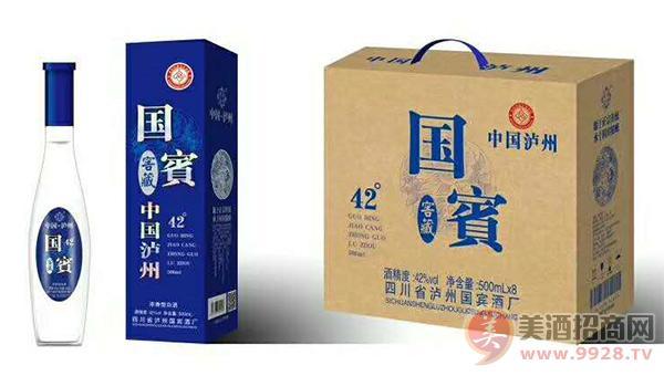 42度泸州国宾窖藏酒礼盒装
