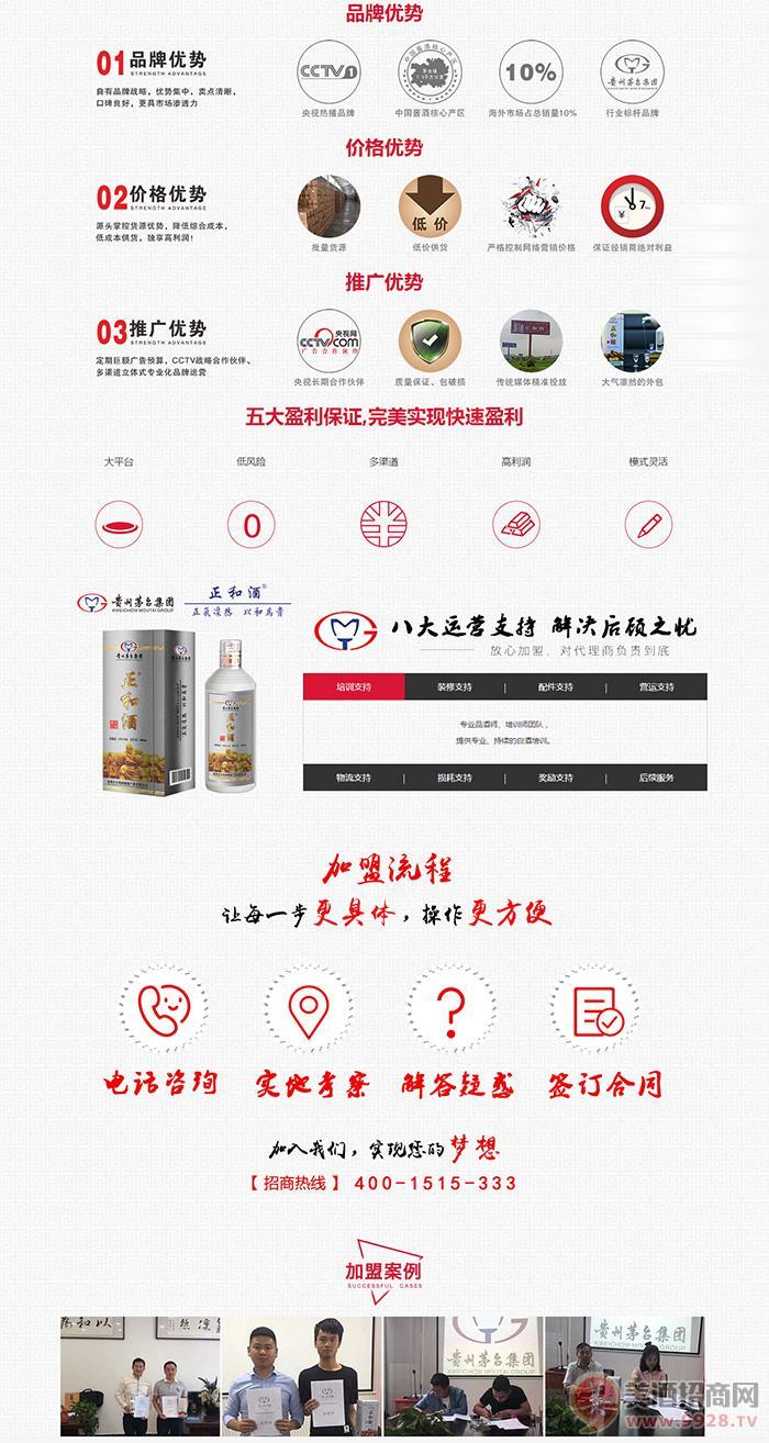贵州茅台集团健康酒业有限公司招商政策