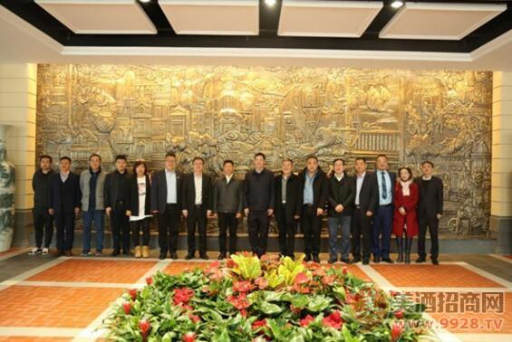 茅台集团副总经理杨建军到天津进行市场调研工作