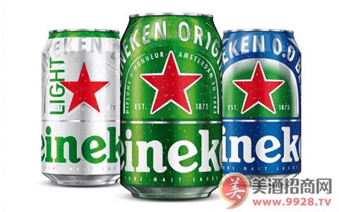 喜力将启用新罐体包装 更具品牌形象