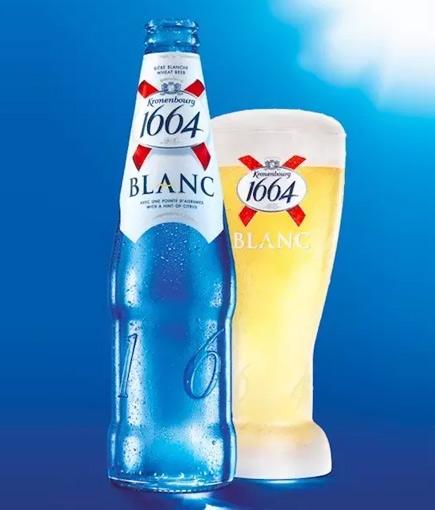 啤酒中的艺术品——法国1664啤酒