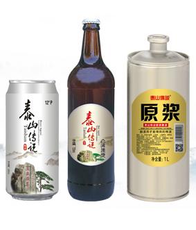 原浆啤酒代理,首选泰山传说