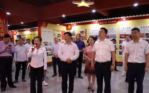 驻马店市食品工业协会走进豫坡集团