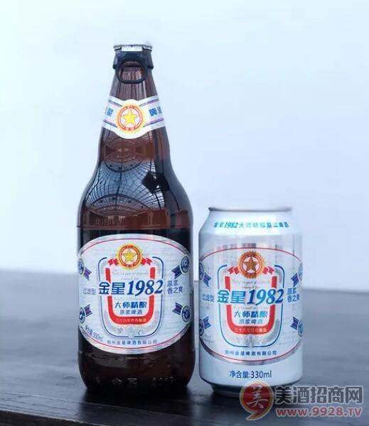 金星1982啤酒