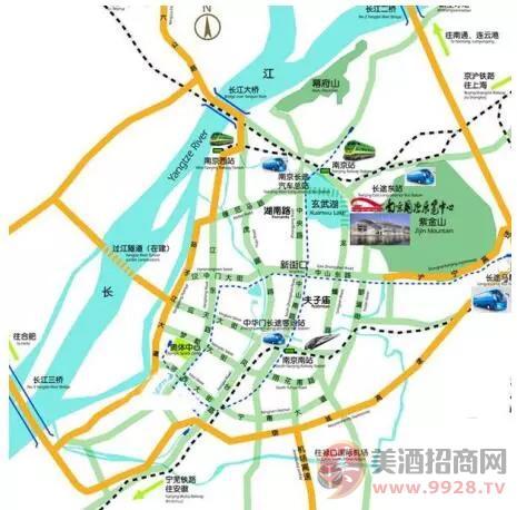 2019南京糖酒会交通图