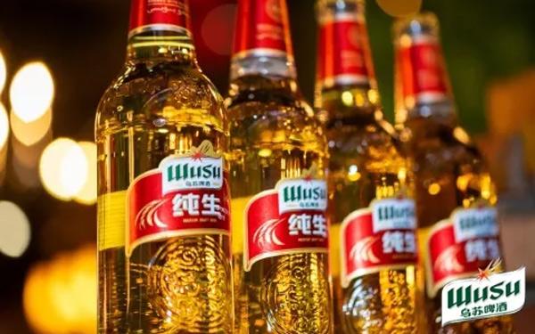 【发现美酒】乌苏纯生啤酒,纯正,更新鲜