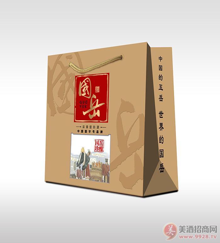 国岳珍酿酒52度500ml