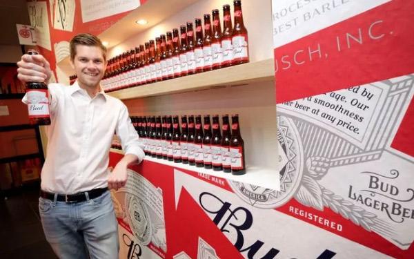 百威英博在荷兰市场推出百威啤酒