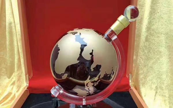 【发现美酒】法国进口洋酒:伯利发白兰地地球仪礼品装