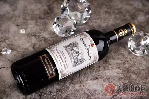 宝朋茉莉城堡红葡萄酒