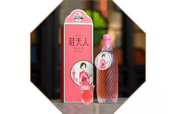 【发现美酒】苏州桂夫人桃花蜜酒,女性用酒佳选