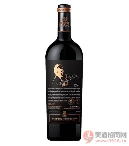 图帝庄园酿酒师甄选干红葡萄酒13度750ml
