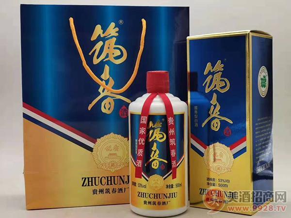 筑春酒优质53度500ml