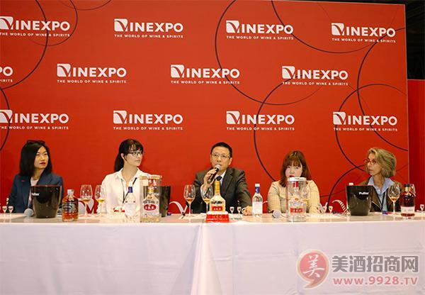 五粮液亮相Vinexpo国际葡萄酒及烈酒展