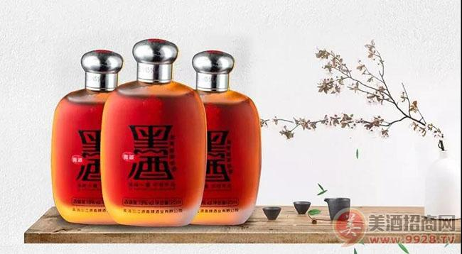 酉花·青藏黑酒