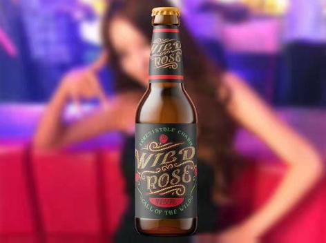 夜场及女性啤酒新市场野玫瑰花仙子上市,诚邀代理商加盟!