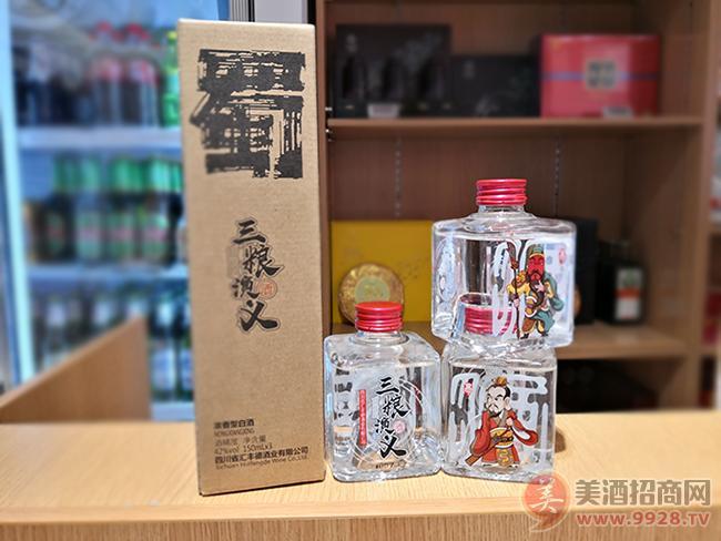 三粮演义酒·蜀