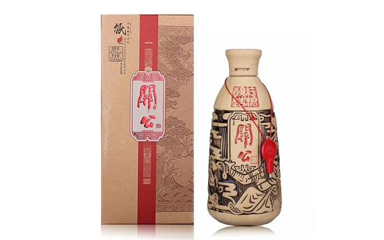 关公酒,陶瓷瓶装的纯粮好酒!