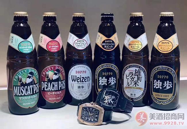 日本步啤酒