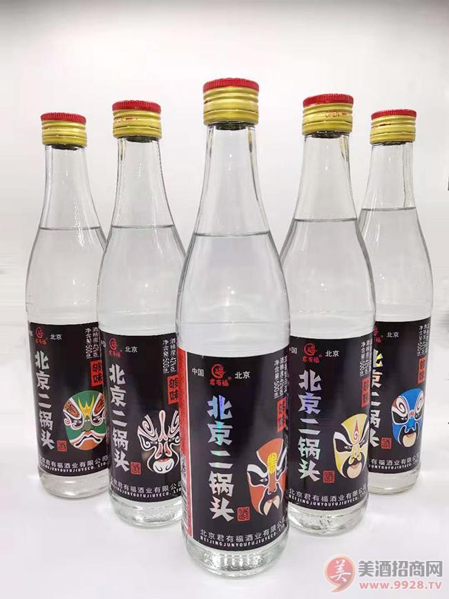 君有福北京二锅头酒500ml