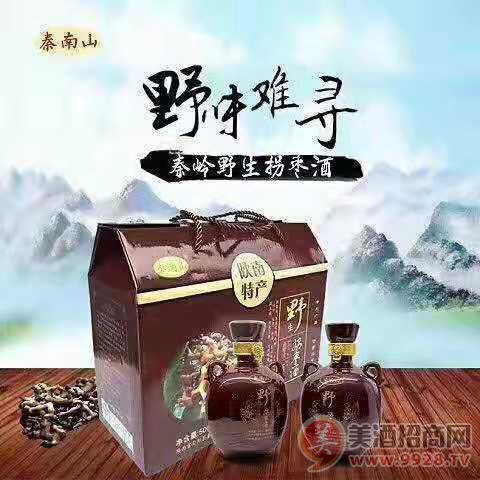秦岭野生拐枣酒