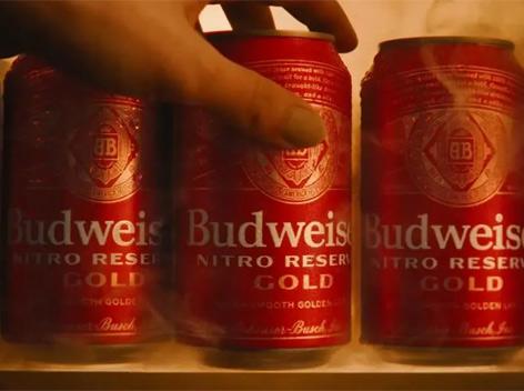 百威品牌首款氮气啤酒亮相,感受不一样的啤酒新体验