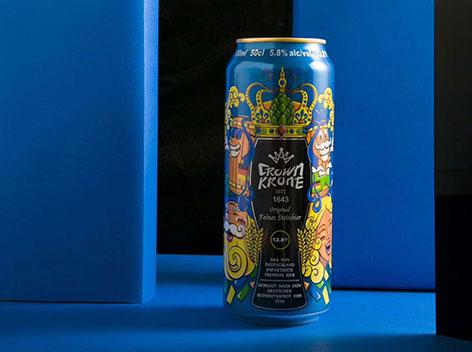 新品上市|德国皇冠啤酒,好喝养生且不贵