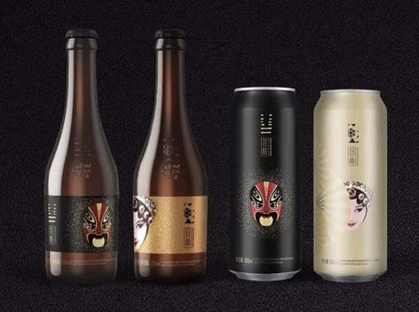 雪花啤酒��V系列,新品上市!