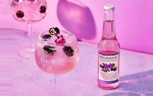 瑞可德林西打酒介绍,紫罗兰&黑莓口味全新上市!